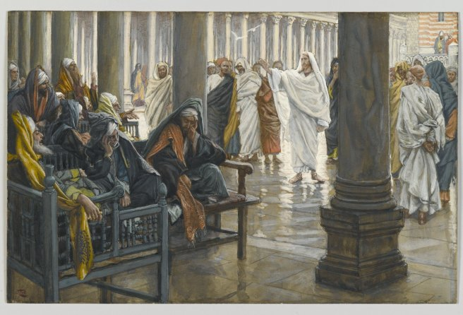 Woe Unto You Scribes Pharisees James Tissot