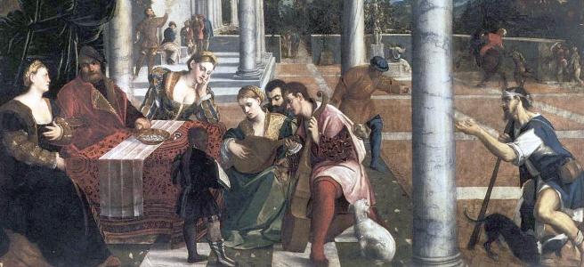 Dives & Lazarus, Bonifacio de Pitatica, ca 1540.