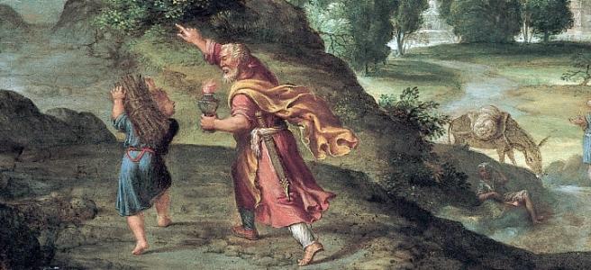 Isaac Abraham Carrying Wood